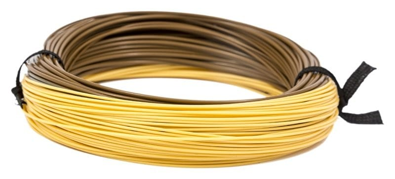 XS-Plus Nano Countdown Tan (3ips) Sinking Fly Line Brown/Light Tan WFCD3 image 3