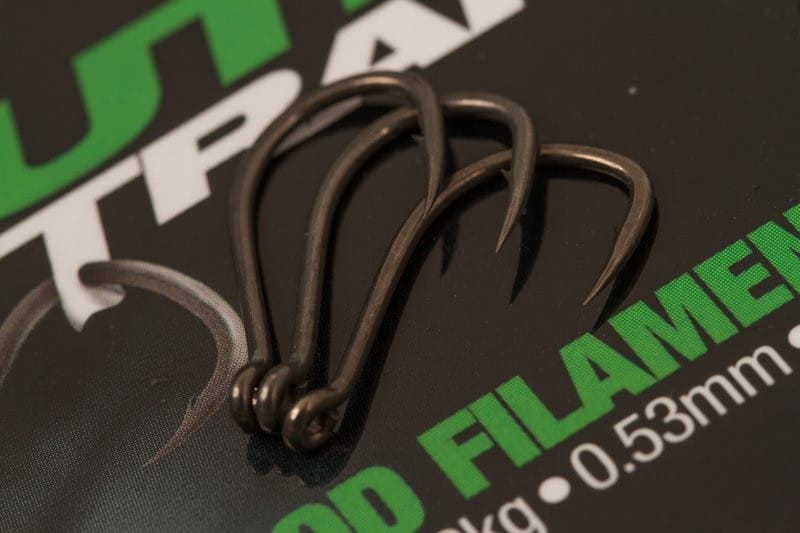 Choddy Barbless Carp Hooks 10pcs image 1