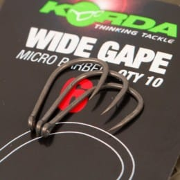 Wide Gape Micro Barbed Carp Hooks Pack of 10