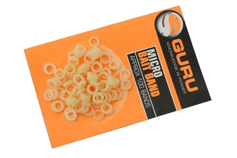 Micro Bait Bands (approx 100 per pack) for hair rigs