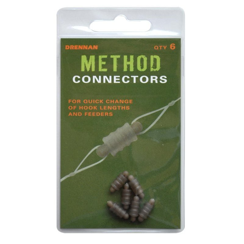 Method Connectors for quick changing