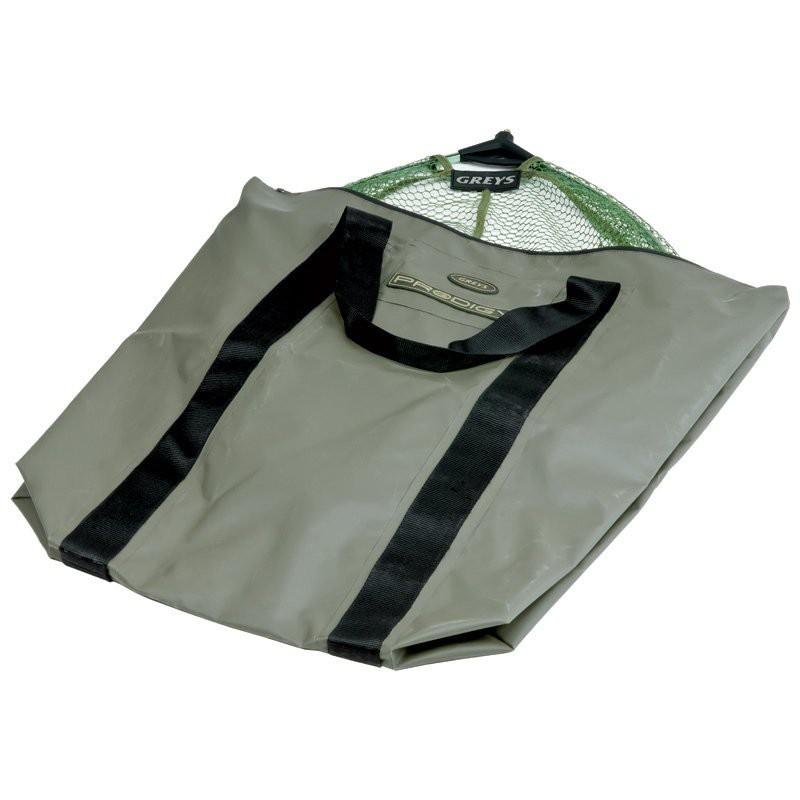 Prodigy Wet Net Bag with welded seams and a rubber seal zip top