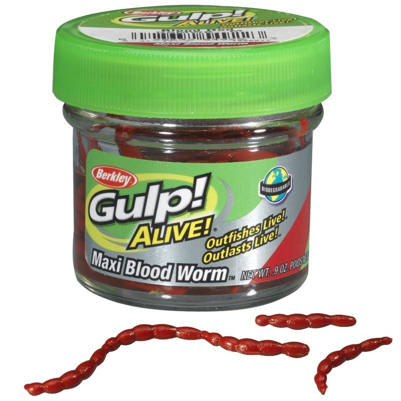 Gulp Alive Maxi Bloodworm image 0