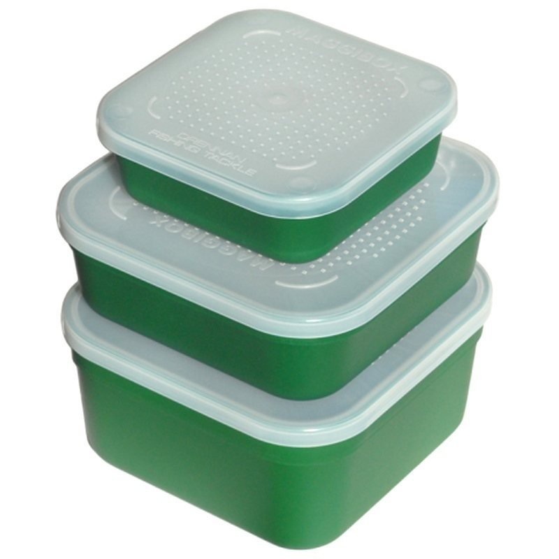 Maggibox with Perforated Lid