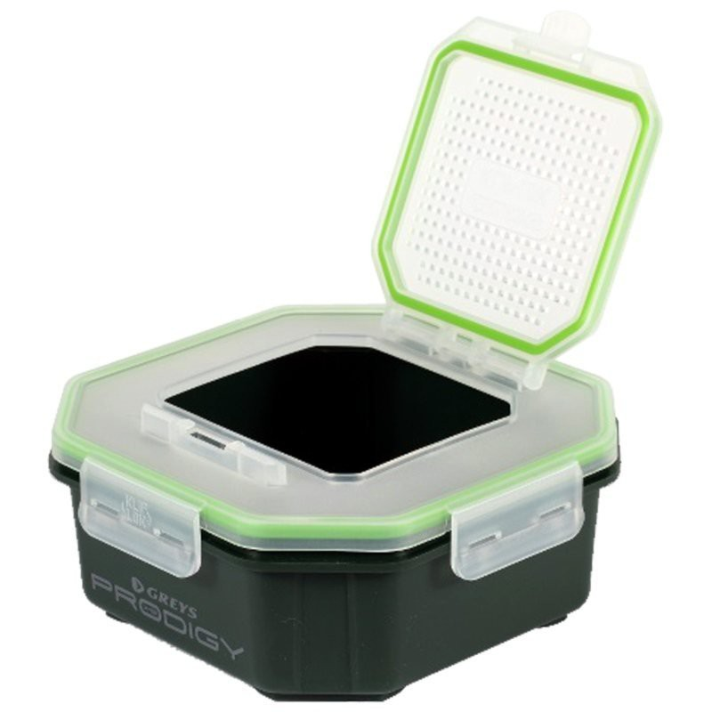 Prodigy Klip Lok Flip Top Perforated Lid Bait Boxes