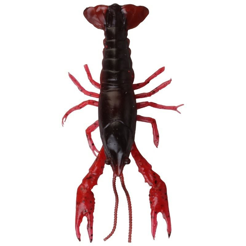 3D Crayfish Loose Body 8cm 4pcs image 3