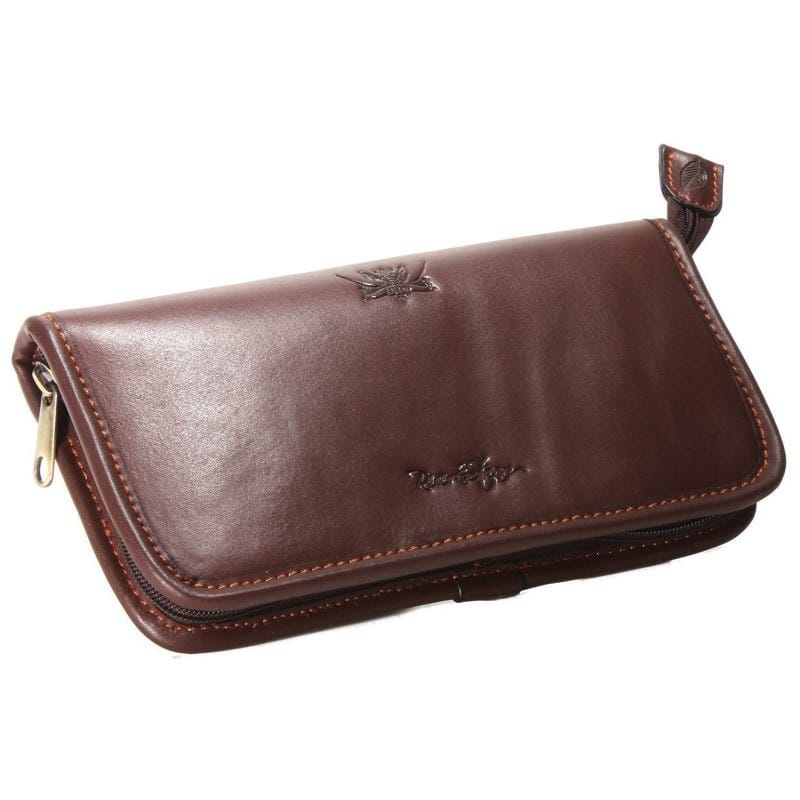 River & Stream Leather Fly Wallet
