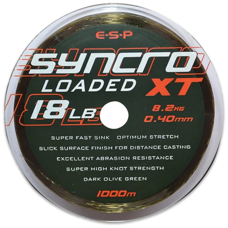 Syncro XT Loaded Monofilament 1000m