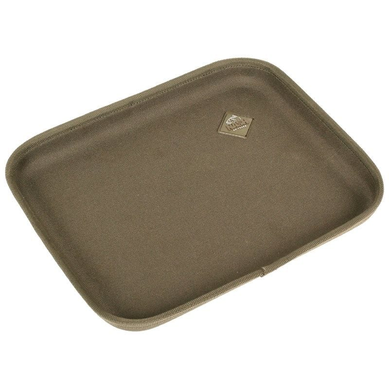 Bivvy Tray with a non-slip surface for rig tying, eating & more