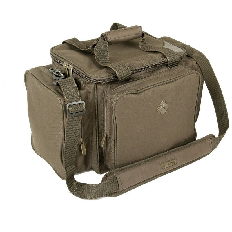 Compact Carryall with a heavy duty waterproof-stiffened base