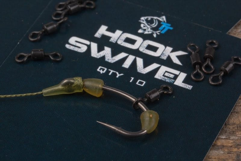 Hook Swivels (10 per pack) offer 360 degree movement for hookbaits image 2
