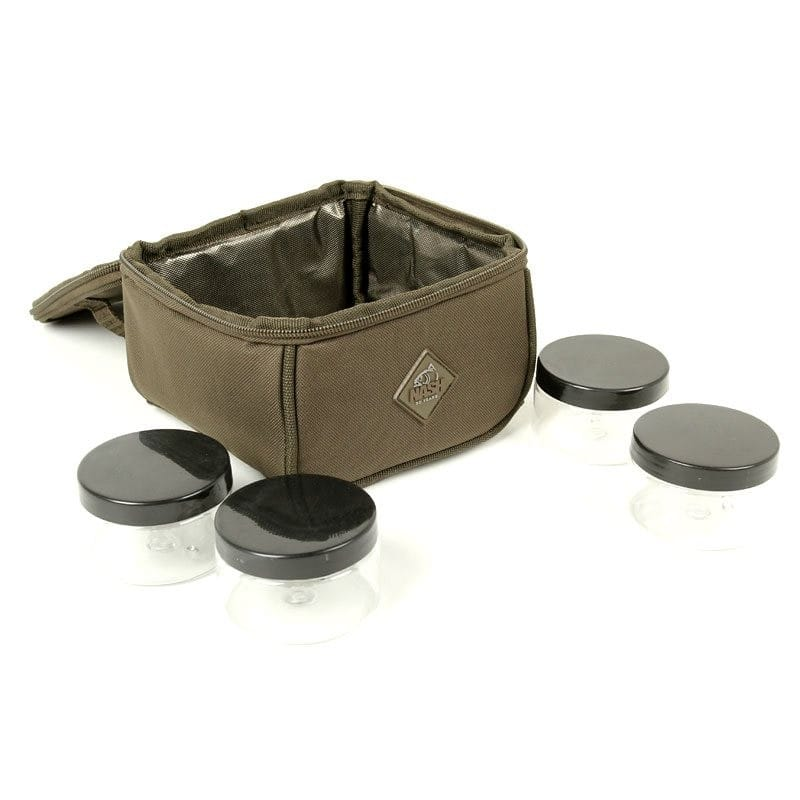 Hookbait Pouch with a waterproof base and 4 Pots image 2