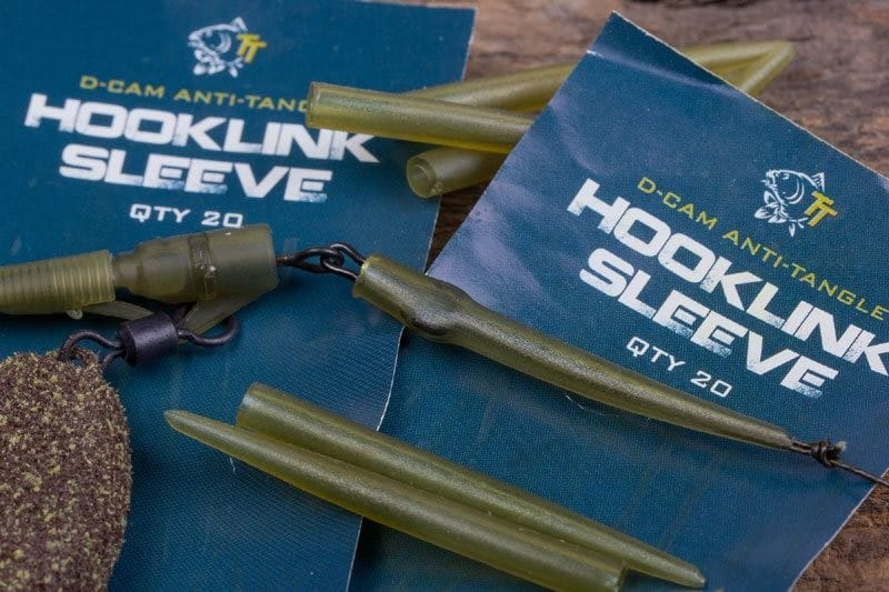 Hooklink Sleeves (20 pcs) to protect knots and minimise tangles image 2