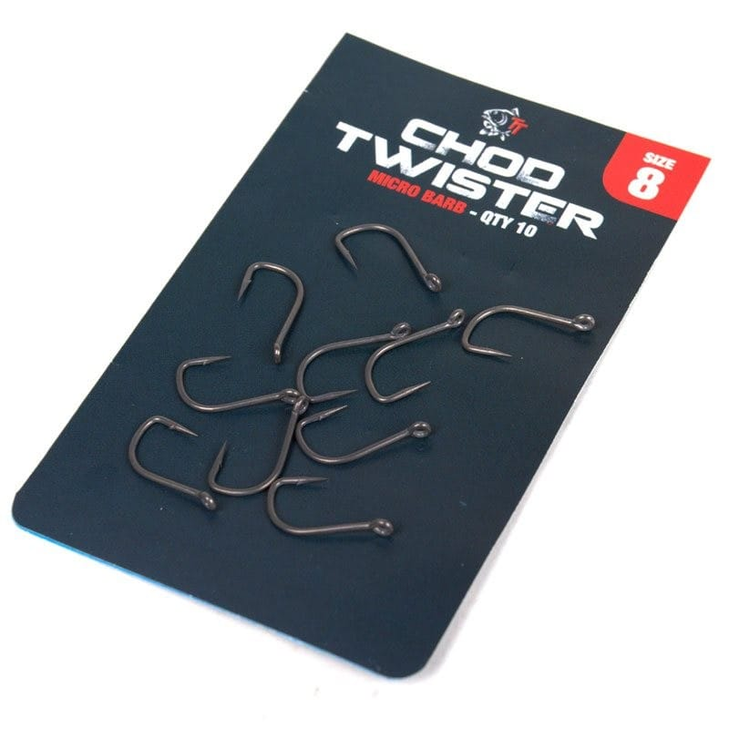 Chod Twister Micro Barbed Carp Hooks 10pcs