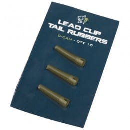 Lead Clip Tail Rubbers Pack of 10