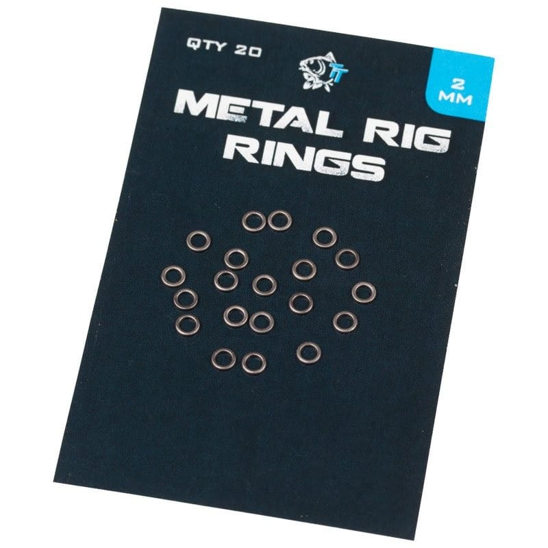 Metal Rig Rings (20 per pack) with zero glare image 1