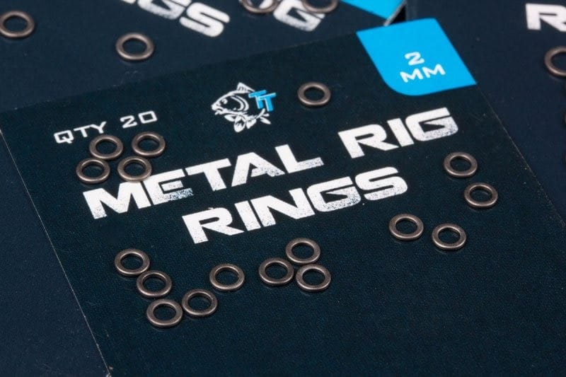 Metal Rig Rings (20 per pack) with zero glare image 2