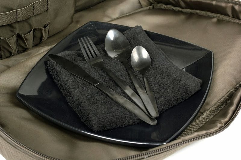 Session Food Bag with cutlery and a heat-resistant plate image 3