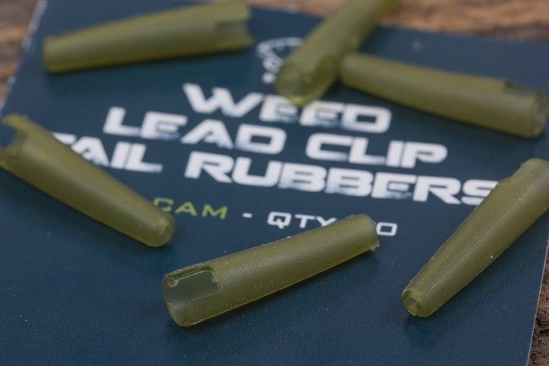 Weed Lead Clip Tail Rubbers Pack of 10 image 2