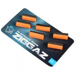 Ziggaz Foam Pack of 6