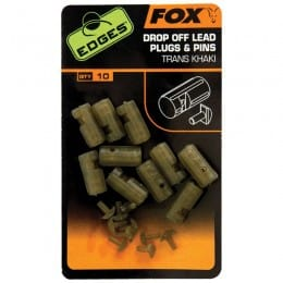 Edges Drop Off Lead Plug & Pins (10 per pack)