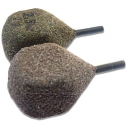 Textured Leads Inline Square Pear