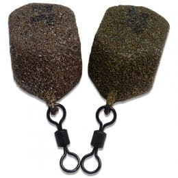 Textured Leads Square Pear Swivel