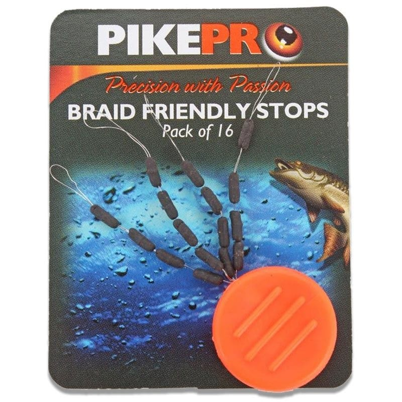 Braid Friendly Stops 16pcs