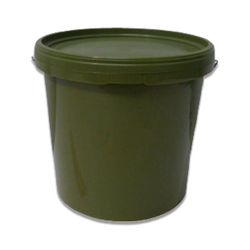 Green Bucket With Lid