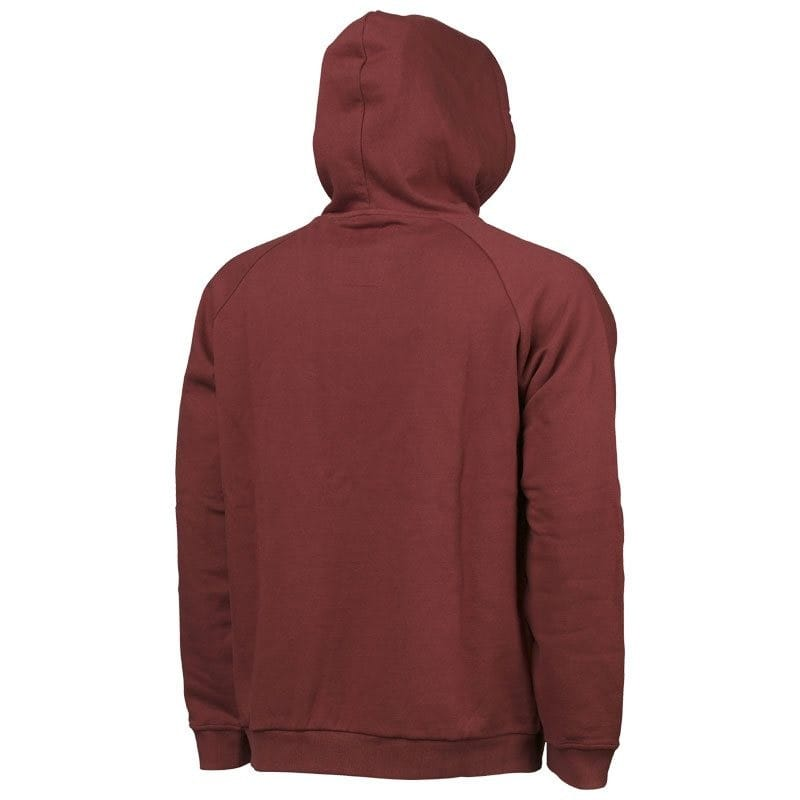 Vantage Pull Over Hoody Burgandy Red image 1
