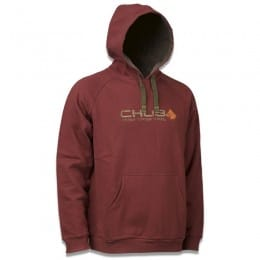 Vantage Pull Over Hoody Burgandy Red