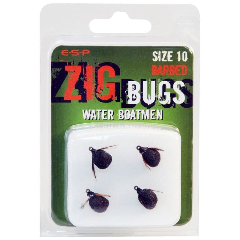 Zig Bugs Water Boatmen Barbed Pack of 4 image 2