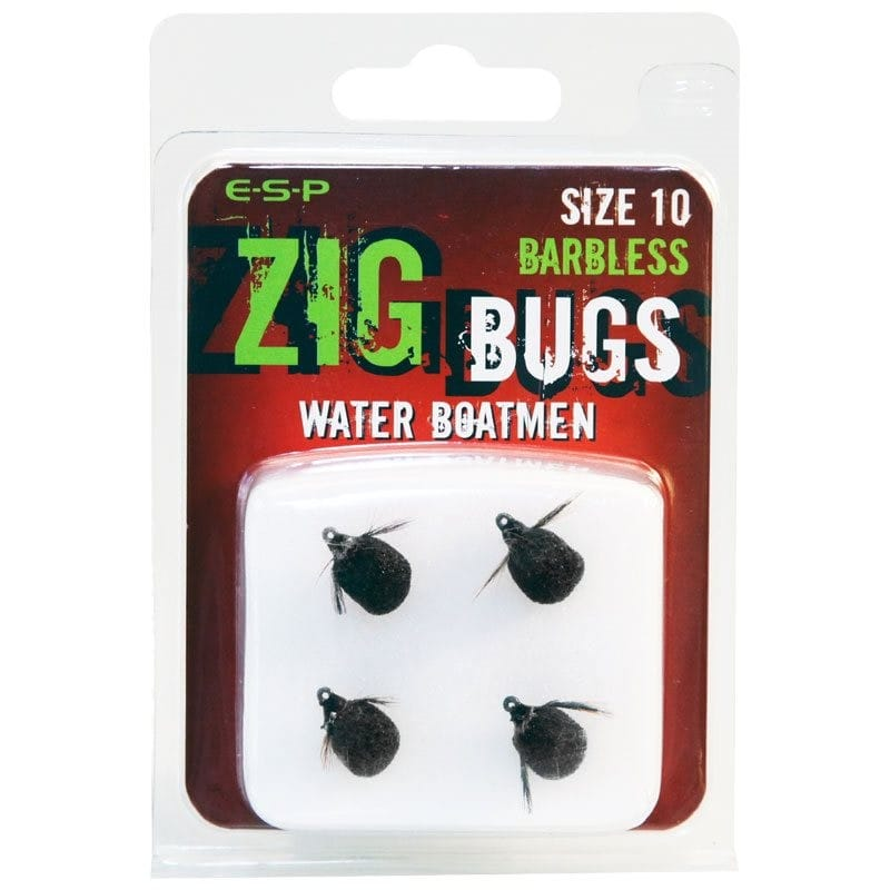 Zig Bugs Water Boatmen Barbless Pack of 4 image 2