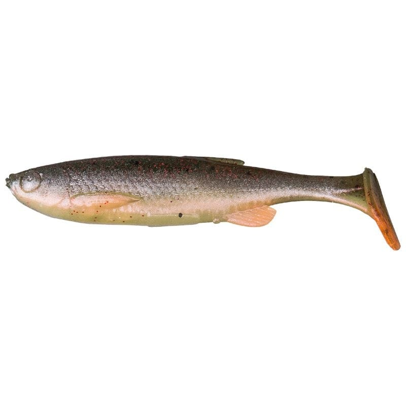 3D Fat Minnow T-Tail Loose Body 9cm image 2