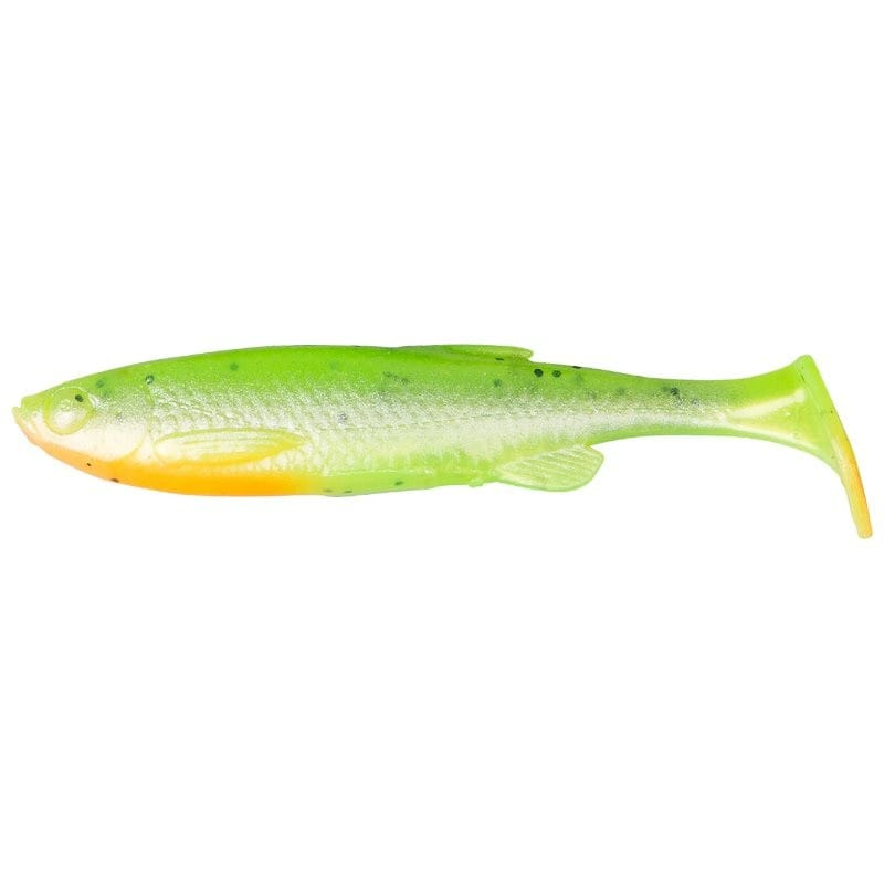 3D Fat Minnow T-Tail Loose Body 9cm image 1