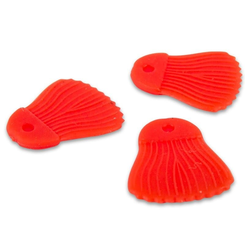 Bait Fins Red 25pcs