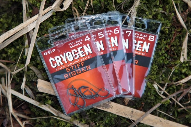 Cryogen Stiff Rigger Hooks Barbed Pack of 10 image 2