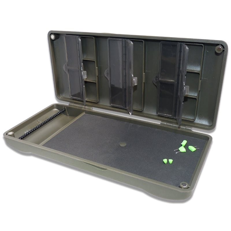 Mini Rigsafe Combi that stores up to 20 rigs with other tackle