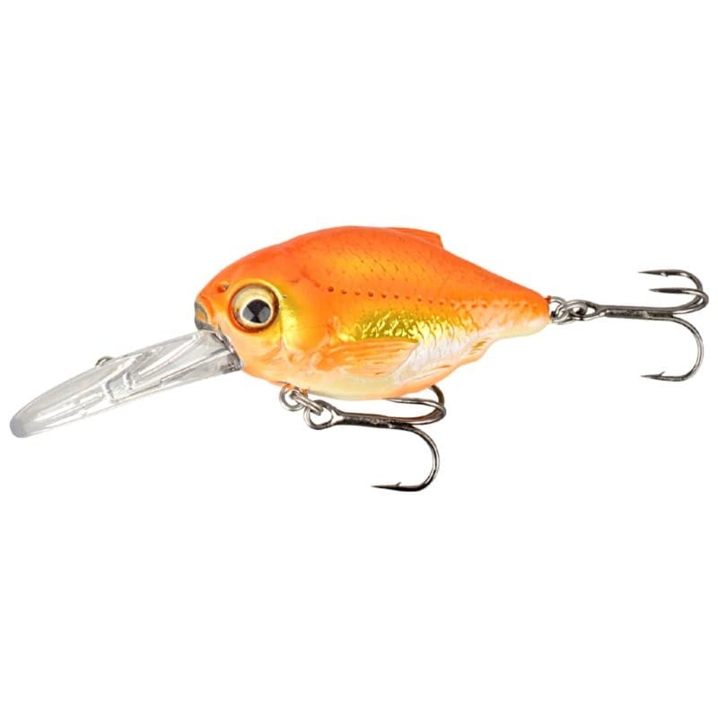 3D Crucian Crank 3.4cm Floating Shallow Runner image 2