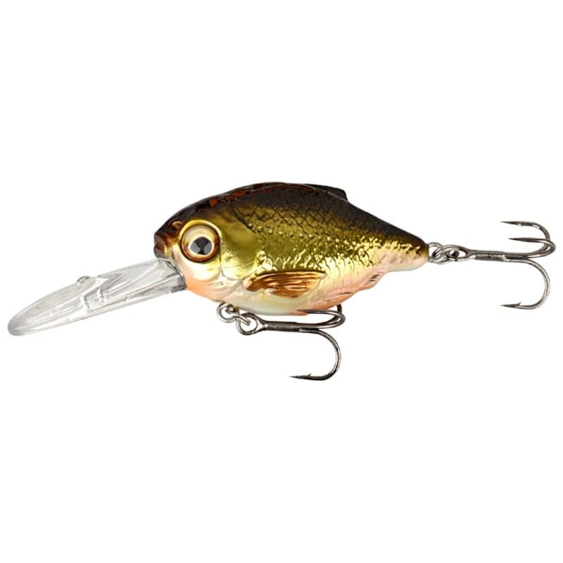 3D Crucian Crank 3.4cm Floating Shallow Runner image 3