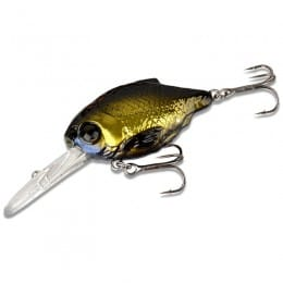 3D Crucian Crank 6.4cm Floating Deep Runner