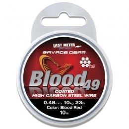 Blood 49 Strand Trace Wire