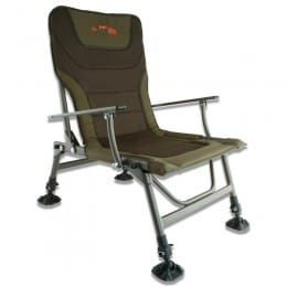 Duralite Chair with padded seats and adjustable, lockable legs