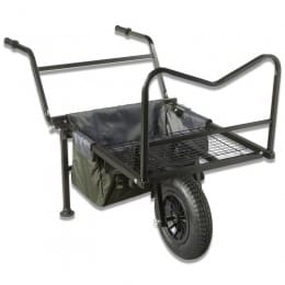 Contact Barrow with foldable handles and a detachable wheel