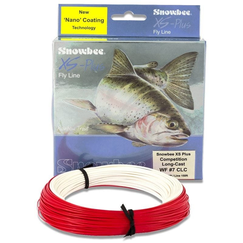 XS-Plus Nano-Tec Competition Long Cast Floating Fly Line Ivory/Red CLC-F