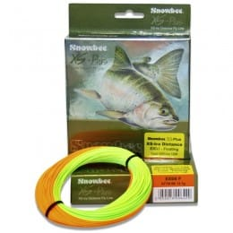 XS Plus XStra Distance Floating Fly Line Chartreuse & Orange EXDF