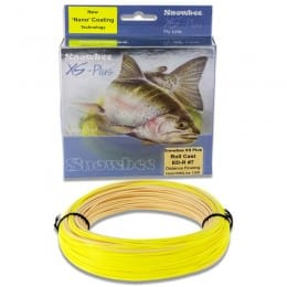 XS Plus Nano Tec ED Roll Cast Floating Fly Line Buckskin & Yellow EDRC F