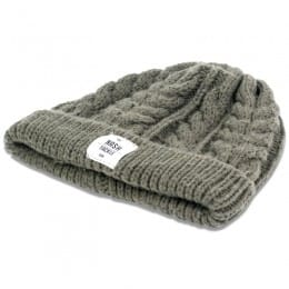 Chunky Knit Beanie made from 100% acrylic  - one size fits all