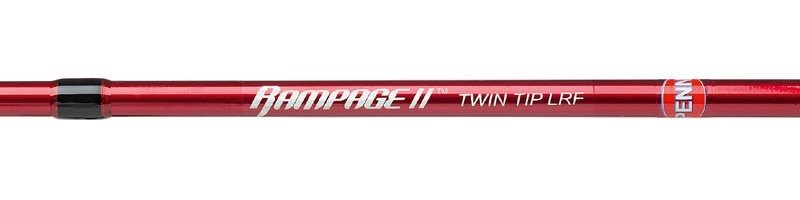 Rampage ll Twin Tip LRF 7.4ft Lure Rods image 4