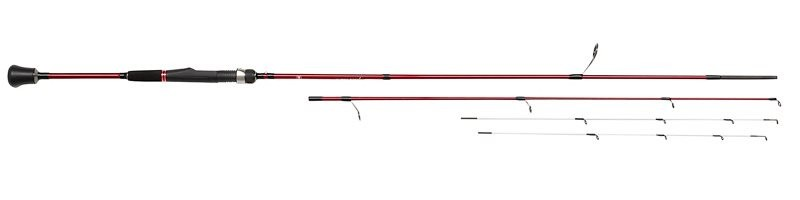 Rampage ll Twin Tip LRF 7 4ft Lure Rods 7ft4 0 5/5g - 5/12g - 2 Section